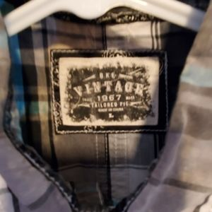 BKE Shirts - Men's Vintage  Tailored shirt Large